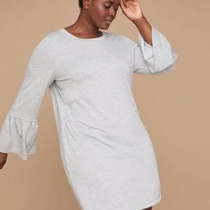 Lane Bryant Pearl Sweatshirt Dress Size 18/20